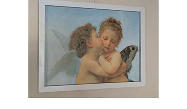 Con querubines - Raphael -30 cms x 40 cms- Vintage ángeles Póster Impresión: Amazon.es: Hogar