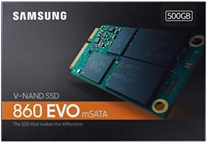 Samsung EVO m-SATA - Disco Estado Solido SSD (500 GB, 550 ...