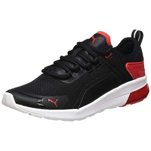 chollos oferta descuentos barato PUMA Electron Street Era Zapatillas Unisex Adulto Negro Black High Risk Red White 36 EU