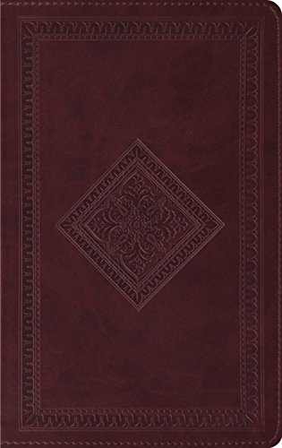 (ESV Thinline Bible (TruTone, Chestnut, Diamond Design))