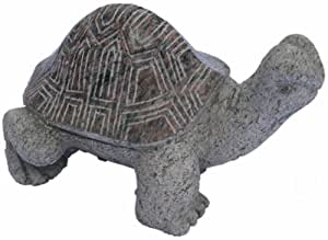 NVA Creative Garden Granite 4548030 12-Inch Tortoise with Polished Shell, Red