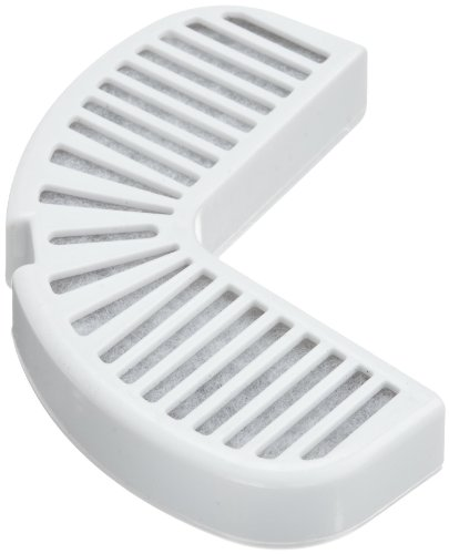 Duo Density Carbon - Pioneer Pet Replacement Filters for Ceramic and Stainless Steel Fountains, 3-Pack