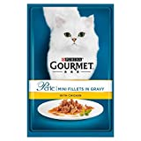 2X Gourmet Perle Mini Fillets Chicken in Gravy 85g