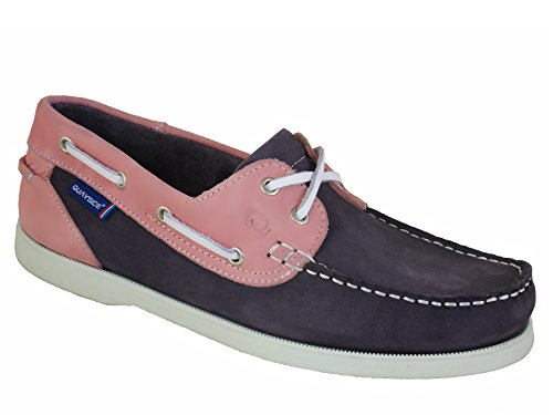 Quayside , Damen Bootsschuhe rosa Yachting/Rose
