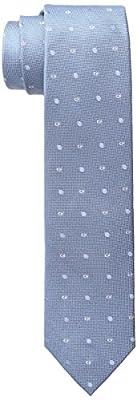 Calvin Klein Men's Pindot Logo Skinny Tie