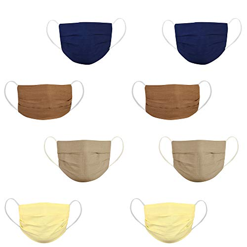 DFR washable and reusable three layered 100% cotton fabric flat design large face cover dust masks Price & Reviews
