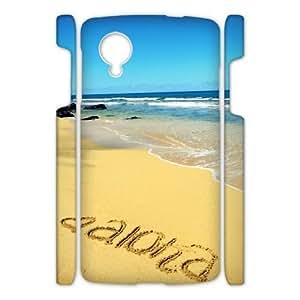 ZK-SXH - ALOHA Brand New Durable 3D Cover Case Cover for Nexus 5, ALOHA Cheap 3D Cell Phone Case