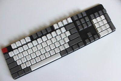 AllDecor 104/88 Backlit Keycaps PBT Doubleshot Keycaps for Flico Cherry MX CMxt Ducky IKBC Gaming Mechanical Keyboard Replace Keycaps with Key Puller 88 Cherry Bars