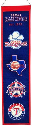 Texas Rangers Wool - MLB Texas Rangers Heritage Banner