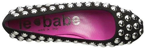 Black Babe Flat Women's Studded Le wOqP0I