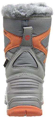 Pictures of Hi-Tec Avalanche JR Winter Boot (Toddler/ Orange/Grey 8