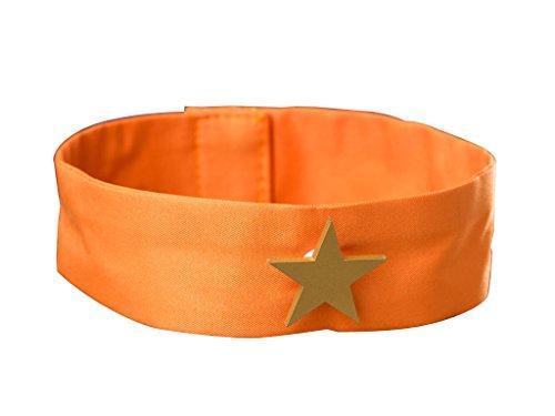 ICEMPs Cosplay Costume Accessory Sailor Venus Aino Minako Orange Collar Band