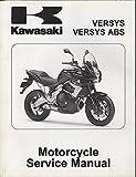 2010 KAWASAKI MOTORCYCLE VERSYS,VERSYS ABS P/N99924-1435-31 SERVICE MANUAL (844)