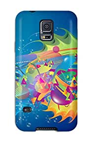 Tpu Shockproof/dirt-proof Free S Cover Case For Galaxy(s5)