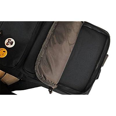 Siawasey Future Diary Anime Mirai Nikki Cosplay Backpack Shoulder School Bag: Toys & Games