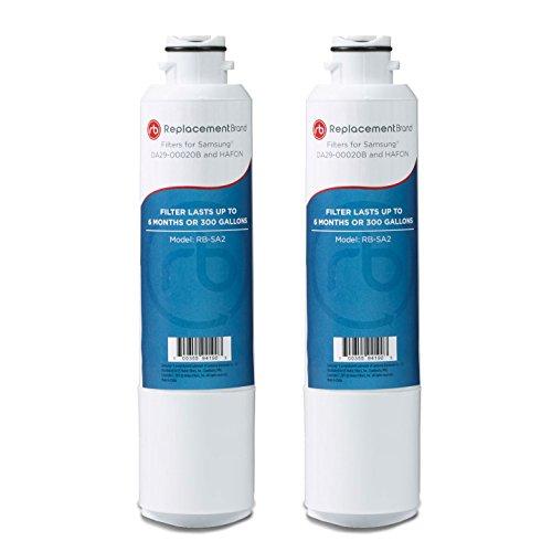 Samsung DA29-00020B HAF-CIN/EXP Comparable Refrigerator Water Filter 2 Pack