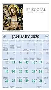 Episcopal Church Calendar 2022.Episcopal Church Year Guide Kalendar 2020 Church Publishing 0846863022298 Amazon Com Books