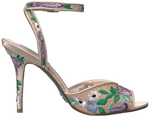 Betsey Johnson Women's Sb-Dylan Dress Sandal Champagne Multi dGVJs6RMv