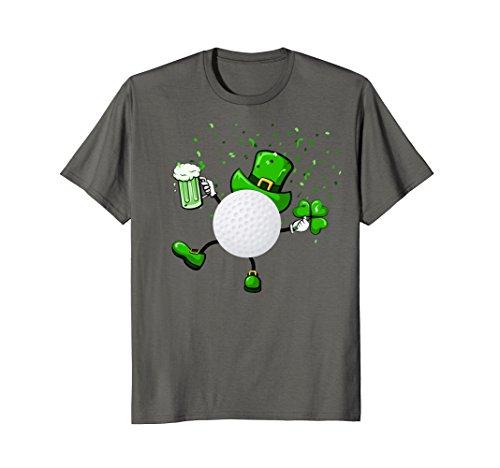 Cool Saint Patrick's Golf Shamrock Shirt Golf Lovers Golfers