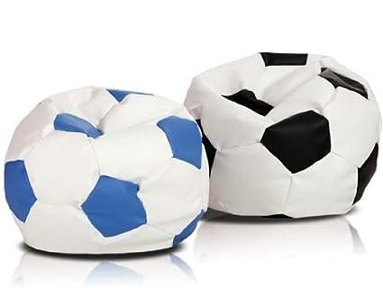 ItalPol Produkt - Juego de 2 puffs Puffs con diseño de balón de ...