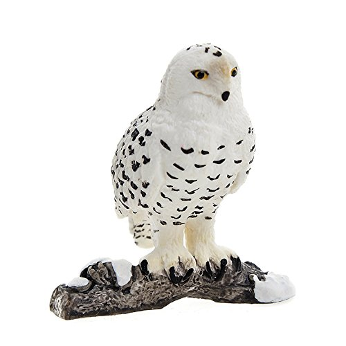 (Schleich Snowy Owl Toy Figure )