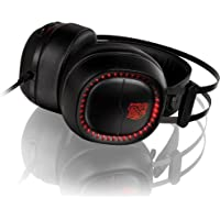 Thermaltake Tt eSports Shock Pro RGB Analog Stereo Gaming Headset for PC/PS4/Xbox/Nintendo Switch/iPhone/iPad/iPod/Android Mobile Devices HT-HSE-ANECBK-23