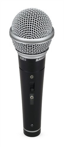Samson R21S Dynamic Microphone with XLR to 1/4