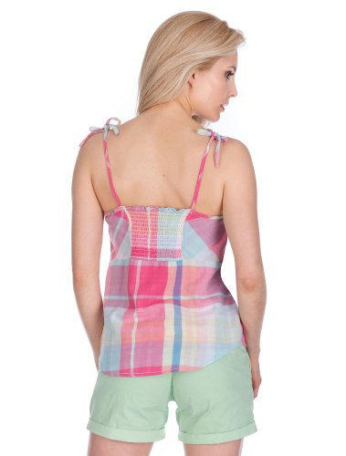 M.O.D Top SP14-TO091 S, Multicolor check