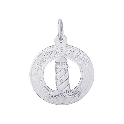 Hilton Head Charm (Rembrandt Charms Lighthouse, Hilton Head, Charm - Sterling Silver)