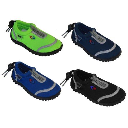 Amazon.com | Frisky Zip-Up Toddler Boys Water Shoes Aqua Socks (8 ...