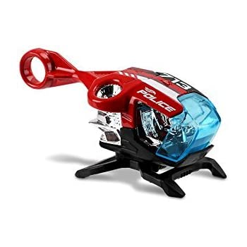Hot Wheels 2017 HW City Works Sky Fi (Helicopter) 353/365, Red and Black