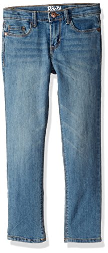 Brushed Denim Jeans (Osh Kosh Girls' Kids Skinny Denim, Brushed Blue, 10)
