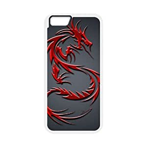 "Dragon Customized Cover Case for iPhone6 Plus 5.5"", Customized Dragon Cell Phone Case"
