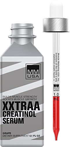 XXTRAA Bodybuilding Preworkout Energy Performance Booster | Pre-Workout Liquid Creatine, L Carnitine & Taurine Serum to Increase Strength, Endurance, Stamina | Bioavailable ATP Supplement Drops (Best Liquid To Take Creatine With)