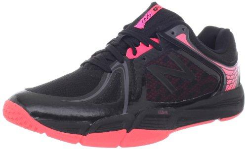 New Balance Women's WX997v2 Cross-Training Shoe,Black/Pink,11 B US