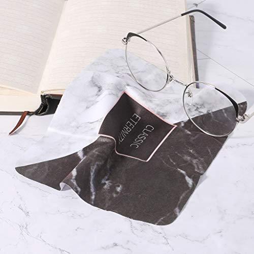 Paño Gafas Estilo Nórdico 145x175mm Suave Gamuza limpiar limpie pantalla de teléfono de polvo