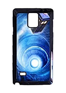 Engood Design Doctor Who TARDIS Time Leap Case Durable Unique Design Hard Back Case Cover For Samsung Galaxy Note 4 New hjbrhga1544