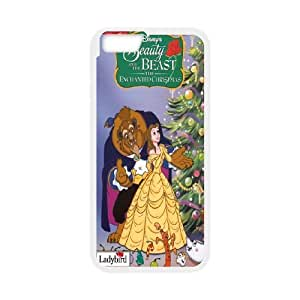 iPhone6 Plus 5.5 inch Phone Case White Beauty and the Beast The Enchanted Christmas MN6614789