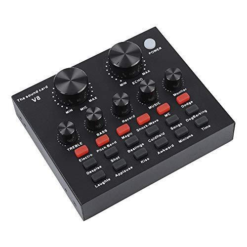 Vbestlife Tarjeta de Sonido Mezclador de Audio Profesional ...