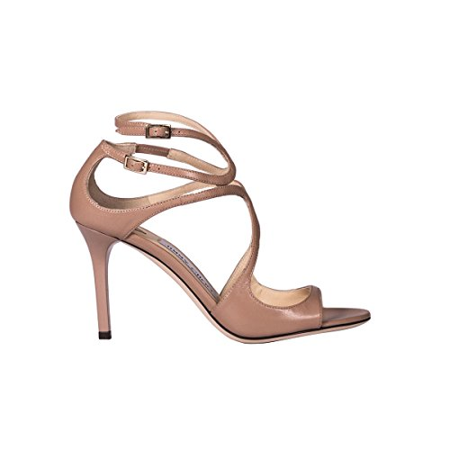 Jimmy Choo Women's IVETTEKIDKIDLEATHERBALLETPINK Pink Leather Sandals discount authentic online cheap sale sast outlet original pay with paypal online c69V1QvFZ