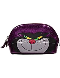 Disney by Danielle Nicole Purple Cosmetic Case Lucifer (Cinderella)