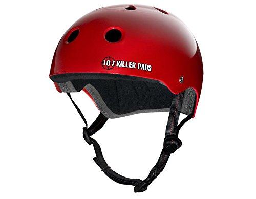 【格安saleスタート】 187 CPSC認定ヘルメット X-Large Large マットブラック B07288YVLW Large// X-Large レッド レッド Large/ X-Large, 快適家電 デジタルライフ:1737547d --- a0267596.xsph.ru