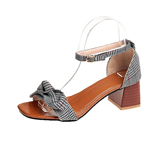 yalanshop Avec une paire d'orteils, des sandales pour femmes et des chaussures pour femmes. Dark brown