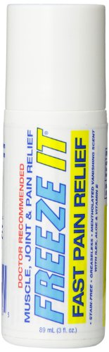 Freeze It Advanced Therapy Gel, Roll on, 3-Ounce