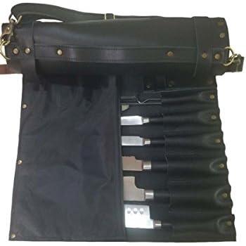 Amazon.com: Ligero rollo de Premium piel, cuchillo de chef ...