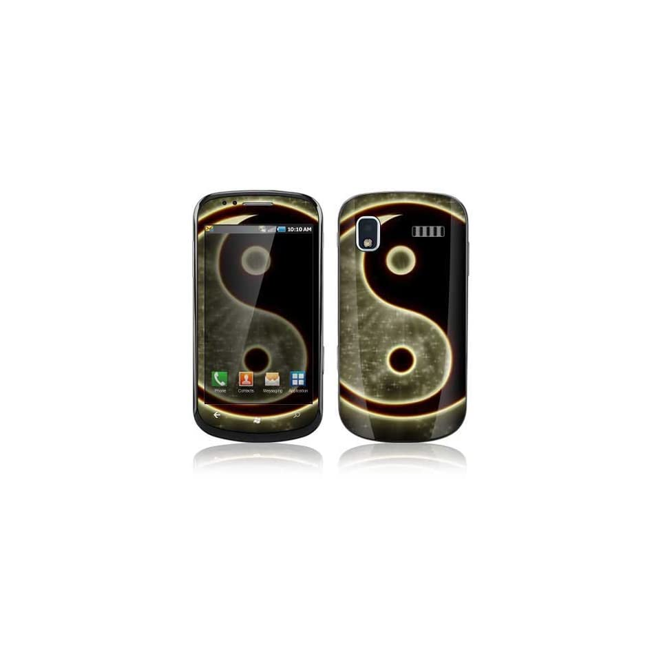 Ying Yang Decorative Skin Cover Decal Sticker for Samsung Focus SGH i917 Cell Phone