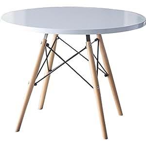 Amazon Com Mackenzie Kids Round Writing Table Kitchen