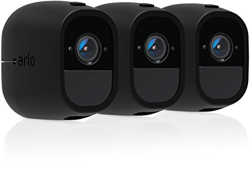 Arlo Accessory - Skins   Set of 3 - Black   Compatible with Arlo Pro only  (VMA4200C)