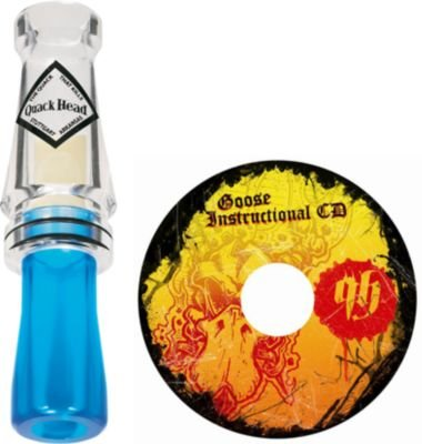 Rich-N-Tone Quack Head Goozilla Goose Call and Instructional CD Combo