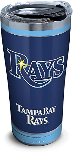 Tervis 20 oz. Stainless Steel Tampa Bay Rays Tumbler One Size Blue ()